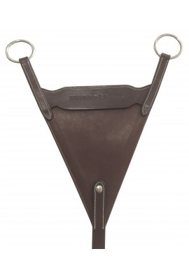 Silver Crown Bib Martingale Attachement