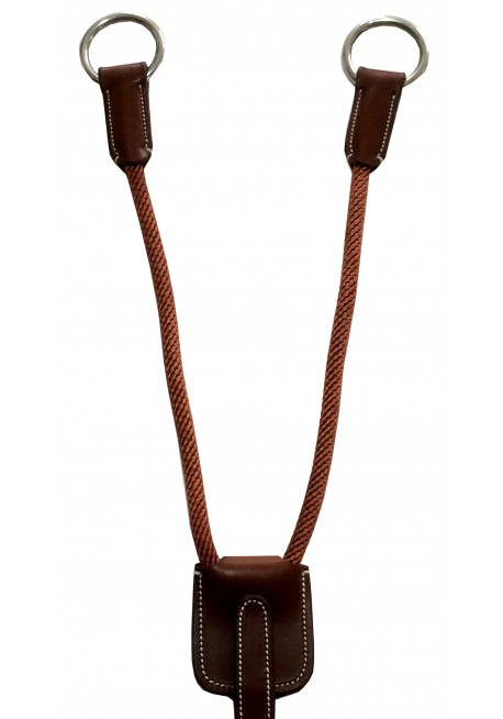 Leather and Cord Martingale Attachement