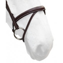 Silver Crown Flash 3D Noseband