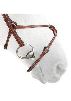 Silver Crown Figure Eight Noseband