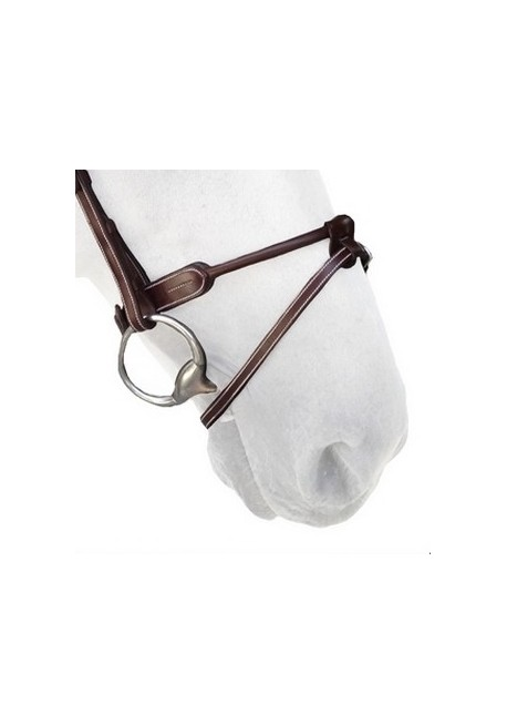 Round Leather Noseband