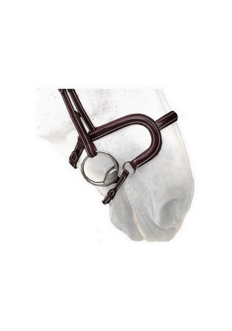 Flat Leather Noseband